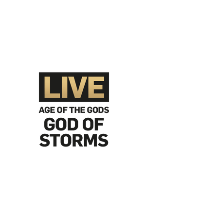 Live Age of the Gods God of Storms on Betfair Casino
