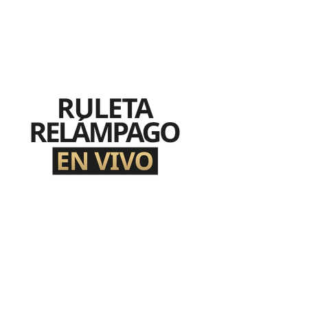 Ruleta Relámpago en Vivo - Betfair Casino