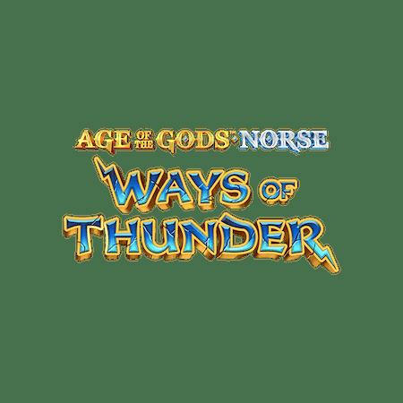 Age of the Gods Ways of Thunder™ - Betfair Vegas