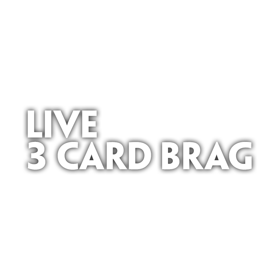 Live 3 Card Brag