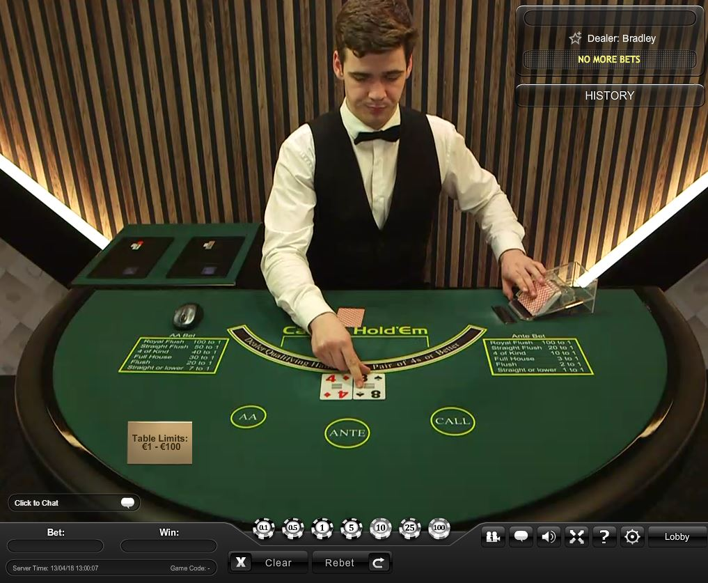 bet live казино