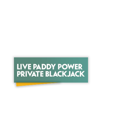 Live Blackjack Private on Paddy Power Games