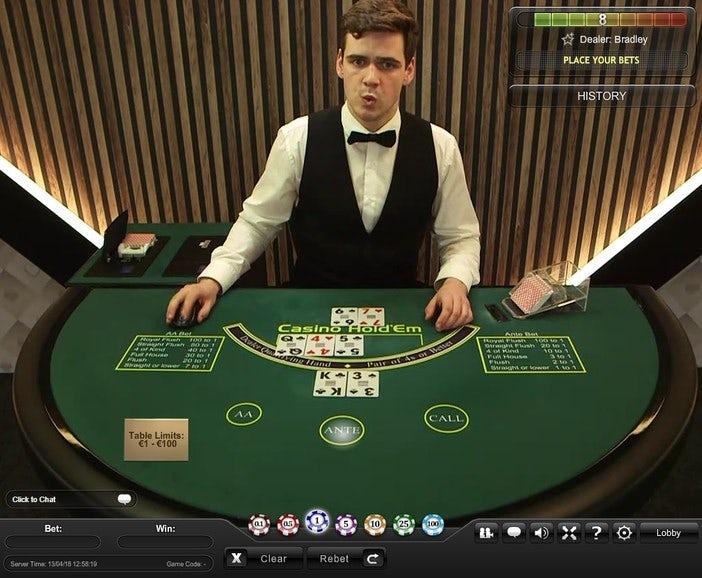 online casino holdem