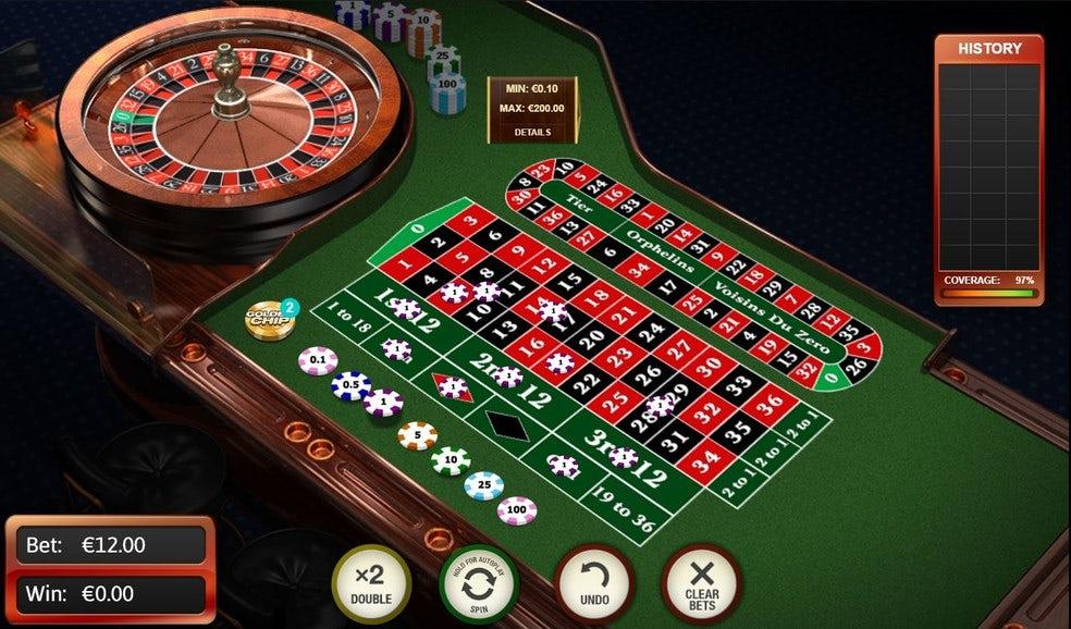 roulette онлайн казино european