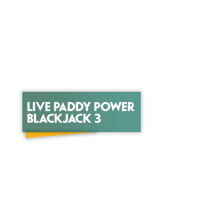 Live Paddy Power Blackjack 3 on Paddy Power Games