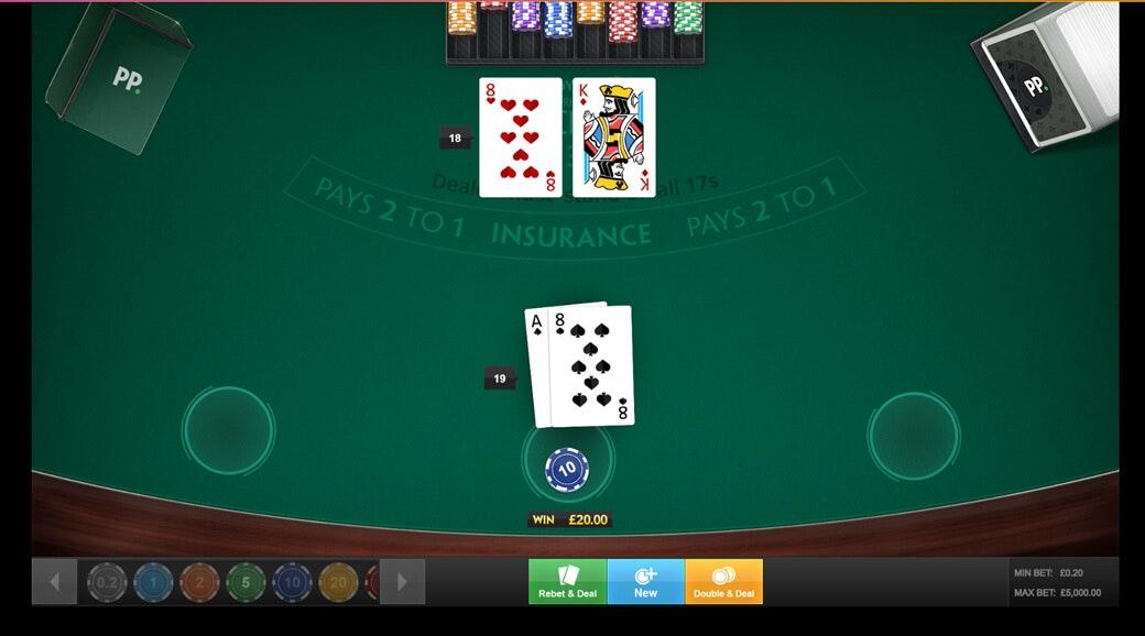 Spell check for blackjack