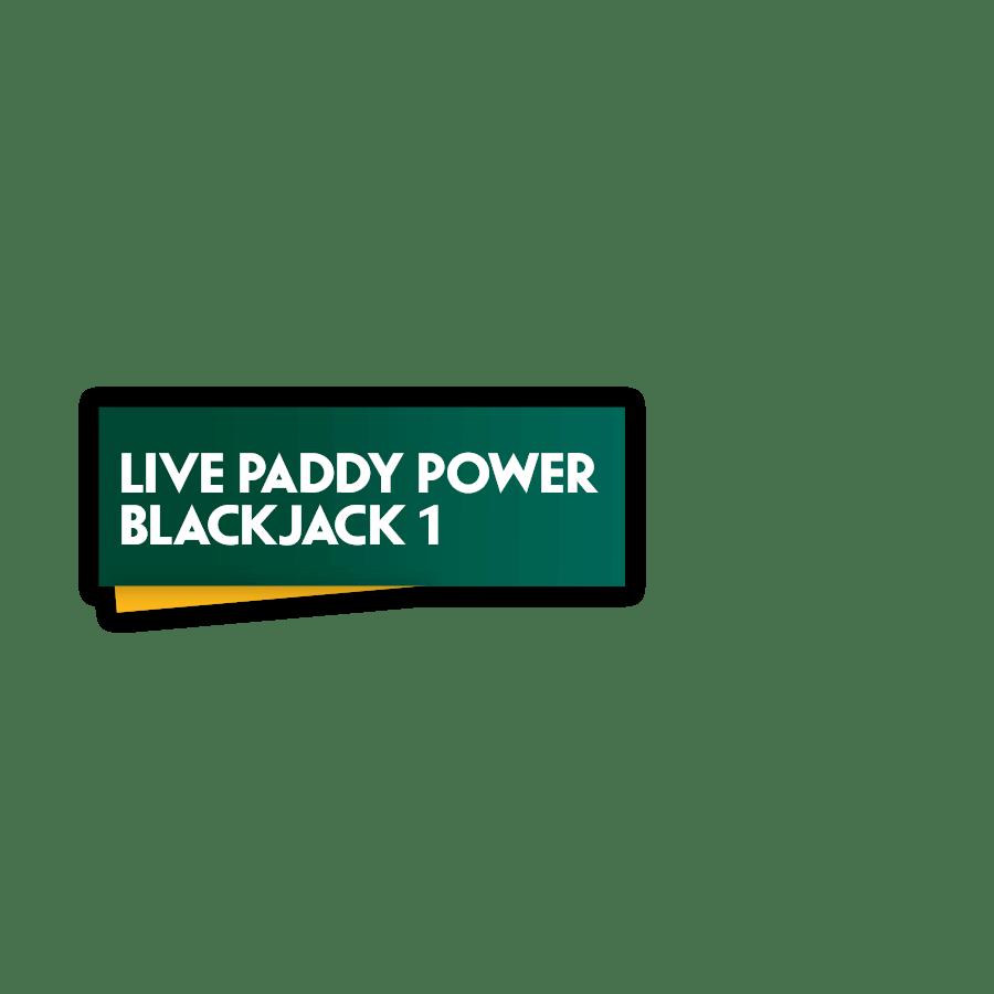Live Paddy Power Blackjack 1